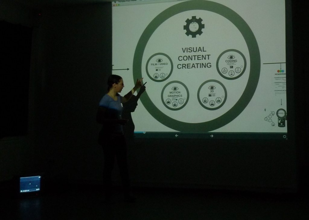 Public workshop with Andrea Sztojánovits